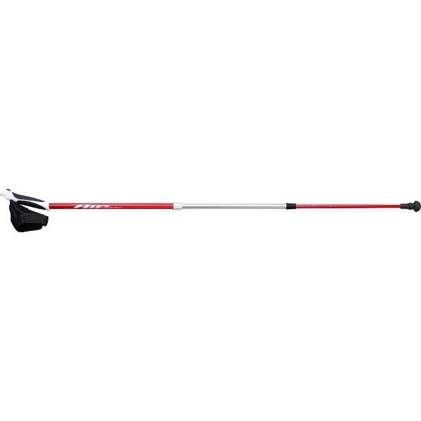 【キザキ】 ノルディックポール エアー式筋力強化杖 ダイエットポール [使用サイズ:105~126cm] [カラー:レッド] #APAH-AR307-RED 【スポーツ・アウトドア:その他雑貨】