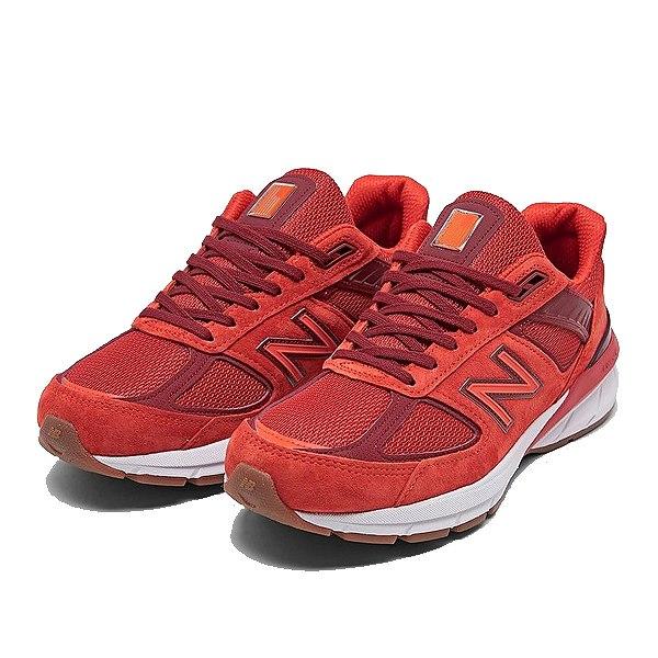【ニューバランス】 ニューバランス M990MS5 [カラー:レッド] [サイズ:26.5cm(US8.5) Dワイズ] [MADE IN USA] 【靴:メンズ靴:スニーカー】【M990】