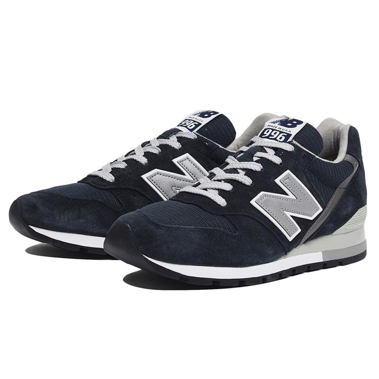 【ニューバランス】 ニューバランス M996NAV [カラー:ネイビー] [サイズ:25cm (US7) Dワイズ] 【靴:メンズ靴:スニーカー】【M996】