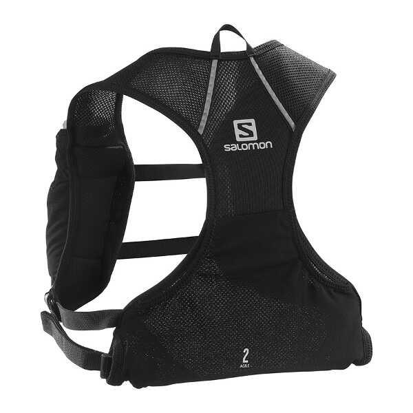 【サロモン】 AGILE 2 SET ランニングバックパック [カラー:ブラック] [サイズ:34×25cm(2.2L)] #LC1305900 【スポーツ・アウトドア:その他雑貨】