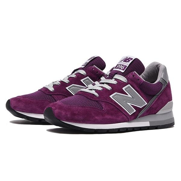 【ニューバランス】 ニューバランス M996CRB [カラー:パープル] [サイズ:24cm (US6) Dワイズ] 【靴:メンズ靴:スニーカー】【M996】