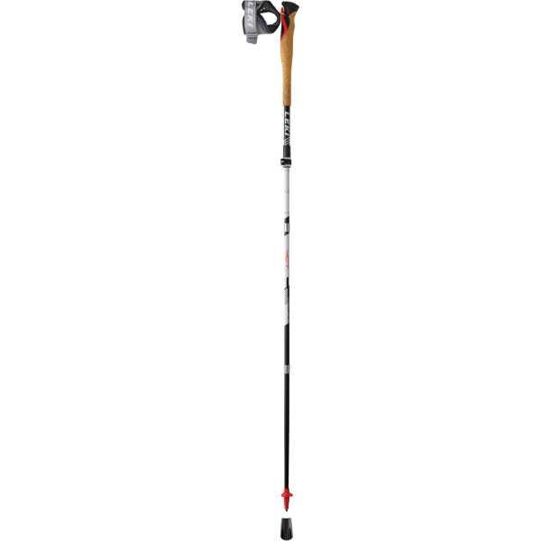 【レキ】 MCT12 バリオ カーボン クロストレイルポール [サイズ:110~130cm(収納時42cm)] [カラー:レッド] #1300398-220 2本組 【スポーツ・アウトドア:登山・トレッキング:トレッキングポール】