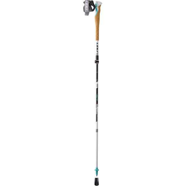 【レキ】 MCT12 バリオカーボン レディ― クロストレイルポール [サイズ:100~120cm(収納時42cm)] [カラー:グリーン] #1300399-550 2本組 【スポーツ・アウトドア:登山・トレッキング:トレッキングポール】