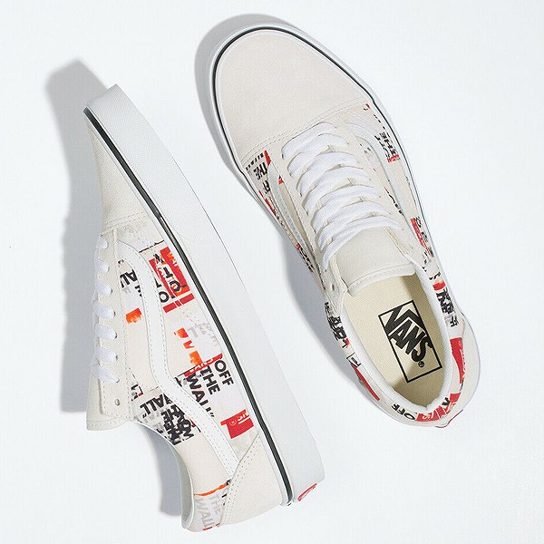 【バンズ】 バンズ オールドスクール (Packing Tape) [サイズ:26.5cm(US8.5)] [カラー:ホワイト] #VN0A4U3BWN4 【靴:メンズ靴:スニーカー】【VN0A4U3BWN4】