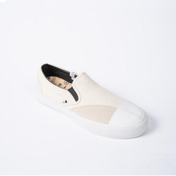 【5%off+最大3000円offクーポン(要獲得) 5/19 9:59まで】 【送料無料】 SLIP IN [サイズ:26cm(US8)] [カラー:OFFWHITE] #CMWF046001 【クリアウェザー: 靴 メンズ靴 スニーカー】【CLEAR WEATHER】