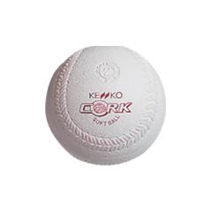 【ケンコ―】 新ケンコーソフトボール 2号(コルク芯) #S2C-NEW 1ダース入り 【スポーツ・アウトドア:その他雑貨】