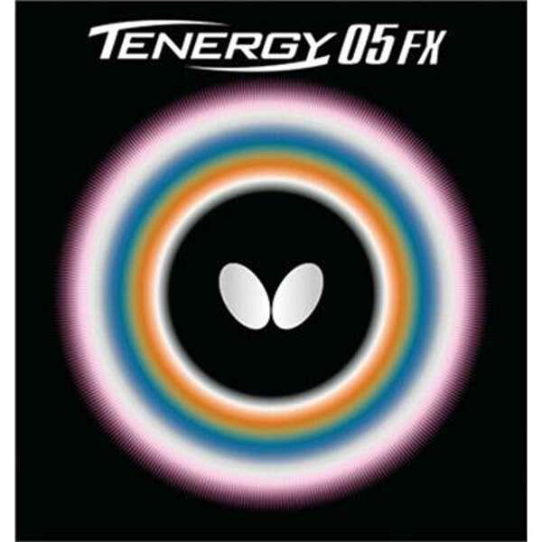 【バタフライ】 テナジー・05・FX 卓球ラバ― [カラー:レッド] [サイズ:中] #05900 【スポーツ・アウトドア:卓球:卓球用ラバー】