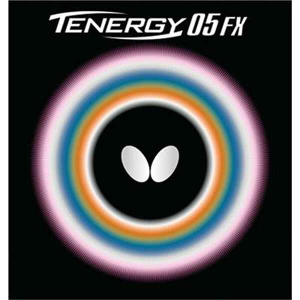 【バタフライ】 テナジー・05・FX 卓球ラバ― [カラー:ブラック] [サイズ:中] #05900 【スポーツ・アウトドア:卓球:卓球用ラバー】