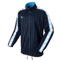 【プーマ】 トレーニングジャケット [カラー:ネイビー×ホワイト×サックス] [サイズ:M] #862216 【スポーツ・アウトドア】