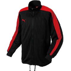 【プーマ】 トレーニングジャケット #862220 [カラー:(06)グラファイト×RED] [サイズ:M] 【スポーツ・アウトドア】【トレーニングジャケット】