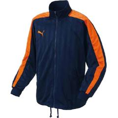 【プーマ】 トレーニングジャケット #862220 [カラー:(75)NV×ORG] [サイズ:SS] 【スポーツ・アウトドア】【トレーニングジャケット】