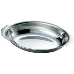 IKD 18-8 深型 グラタン皿 9インチ(約23cm)
