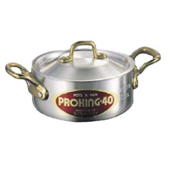 プロキング アルミ 外輪鍋(目盛付) 30cm