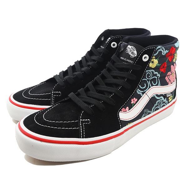 【バンズ】 バンズ スケートハイ プロ (LIZZIE ARMANTO FLORAL) [サイズ:28cm(US10)] [カラー:ブラック×マルチ] #VN0A347TRPQ 【靴:メンズ靴:スニーカー】【VN0A347TRPQ】
