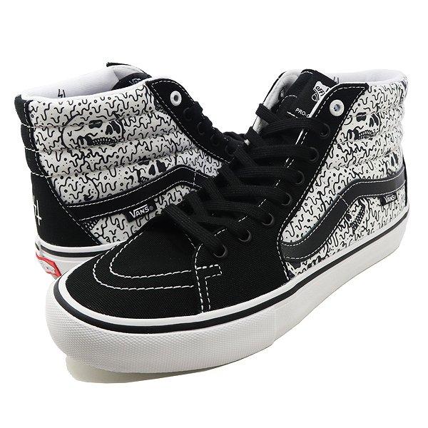【バンズ】 バンズ スケートハイ プロ (SKETCHY TANK) [サイズ:28.5cm(US10.5)] [カラー:ブラック×ホワイト×リフレクティブ] #VN0A347TRF4 【靴:メンズ靴:スニーカー】【VN0A347TRF4】