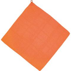 ループ付 カラースカーフ [カラー:オレンジ]