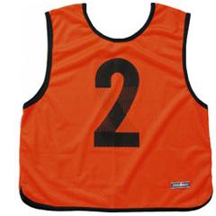 【モルテン】 ゲームベスト 10枚組 No.1~10 [カラー:蛍光オレンジ] #GB0113KO 【スポーツ・アウトドア:スポーツウェア・アクセサリー:ビブス・ゼッケン】
