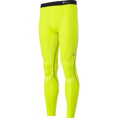 【シースリーフィット】 フォーカスロングタイツ(メンズ) コンプレッションウェア [カラー:フラッシュイエロー] [サイズ:XL] #3F13121 【スポーツ・アウトドア:スポーツ・アウトドア雑貨】