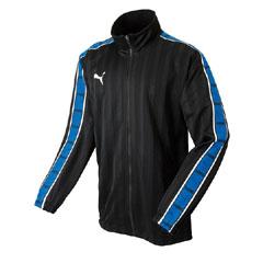 【プーマ】 トレーニングジャケット [カラー:ブラック×チームロイヤル] [サイズ:L] #862216 【スポーツ・アウトドア:その他雑貨】
