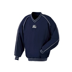 Vネックコート 野球グランドコート [カラー:ネイビー] [サイズ:L] #GW-01