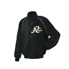 【レワード】 グランドコート セミロングカラー(ボタン付) 野球グランドコート [カラー:ブラック] [サイズ:L] #GW-04 【スポーツ・アウトドア:野球・ソフトボール:ウェア:グランドコート】