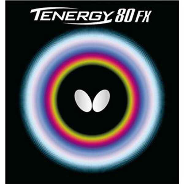 【バタフライ】 テナジー・80・FX 卓球ラバ― [カラー:レッド] [サイズ:中] #05940 【スポーツ・アウトドア:卓球:卓球用ラバー】