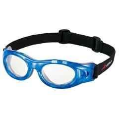 【アックス】 アイプロテクタ― Mサイズ 保護メガネ [カラー:ブルー×クリア] #AEP-01 【スポーツ・アウトドア:その他雑貨】