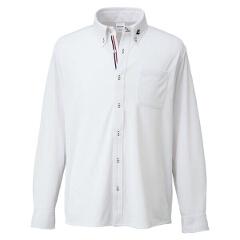 【コンバース】 ボタンダウン ロングスリーブシャツ [カラー:ホワイト] [サイズ:S] #CB231401L-1100 【スポーツ・アウトドア:その他雑貨】