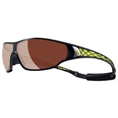 【アディダス】 A189 TYCANE PRO 偏光レンズ スポーツサングラス [カラー:マットブラックラブライム] [サイズ:L] #A189016051 【スポーツ・アウトドア:スポーツウェア・アクセサリー:スポーツサングラス】
