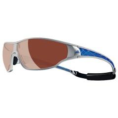 【アディダス】 A190 TYCANE PRO 偏光レンズ スポーツサングラス [カラー:シルバーメタルブルー] [サイズ:S] #A190016053 【スポーツ・アウトドア:スポーツウェア・アクセサリー:スポーツサングラス】