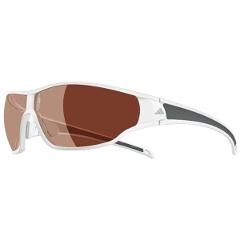 【アディダス】 A191 TYCANE PRO 偏光レンズ スポーツサングラス [カラー:シャイニーホワイトグレイ] [サイズ:L] #A191016052 【スポーツ・アウトドア:スポーツウェア・アクセサリー:スポーツサングラス】