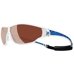 【アディダス】 A190 TYCANE PRO 偏光レンズ スポーツサングラス [カラー:ホワイトブルー] [サイズ:S] #A190016056 【スポーツ・アウトドア:スポーツウェア・アクセサリー:スポーツサングラス】