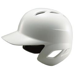 【ゼット】 野球用具 軟式用 ヘルメット(打者用) [カラー:ホワイト] [サイズ:XO(61~62cm)] #BHL370 【スポーツ・アウトドア:野球・ソフトボール:ヘルメット】