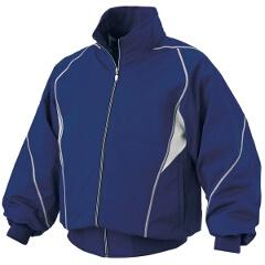 【デサント】 野球用 グラウンドコート DR-208 [カラー:ロイヤルブルー×シルバー] [サイズ:S] #DR-208 【スポーツ・アウトドア:野球・ソフトボール:ウェア:グランドコート】