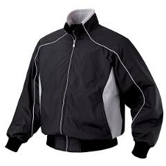 【デサント】 野球用 エクスプラスチタンサーモジャケット [カラー:ブラック×シルバー] [サイズ:O] #DR-215 【スポーツ・アウトドア:野球・ソフトボール:ウェア:グランドコート】