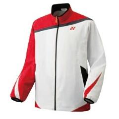 【ヨネックス】 スポーツウェア ウィンドウォーマーシャツ(ユニセックス) 70044 [カラー:ホワイト] [サイズ:O] #70044 【スポーツ・アウトドア:テニス:メンズウェア:ジャージ:アウター】