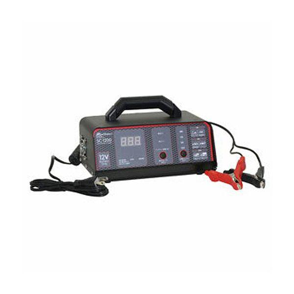 【大自工業】 Meltec(メルテック) バッテリー充電器 #SC-1200 【カー用品:バッテリーメンテナンス用品:バッテリーチャージャー】