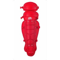 【ゼット】 野球用具 軟式野球用レガーツ [カラー:レッド] #BLL3200B 【スポーツ・アウトドア:スポーツ・アウトドア雑貨】