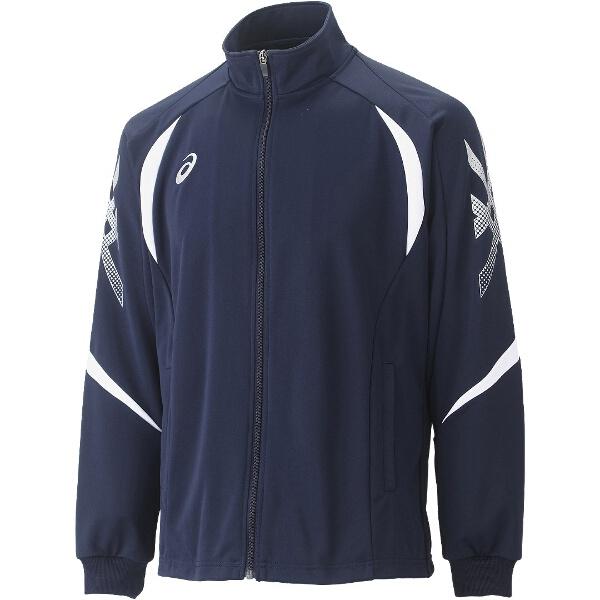 【アシックス】 トレーニング用 トレーニングジャケット XAT176 [カラー:ダークネイビー] [サイズ:M] #XAT176 【スポーツ・アウトドア:その他雑貨】
