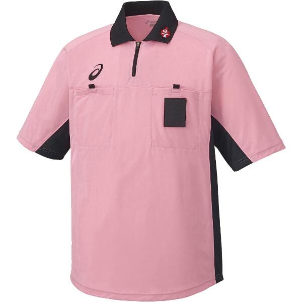 【アシックス】 ハンドボール用 レフリーシャツ XH6003 [カラー:ピンク] [サイズ:L] #XH6003 【スポーツ・アウトドア:スポーツ・アウトドア雑貨】