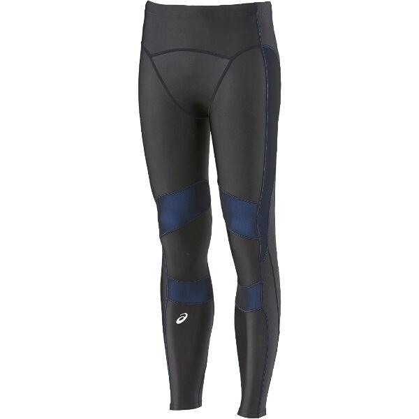 【アシックス】 ロングタイツRF [カラー:ブラック×ブルー] [サイズ:M] #XA3525 【スポーツ・アウトドア:スポーツ・アウトドア雑貨】