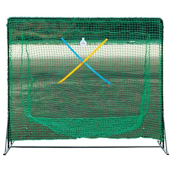 【ユニックス】 セミワイドネット ミスターティーネット [サイズ:190×220cm(フレーム径:直径20mm)] #BX7784 【スポーツ・アウトドア:野球・ソフトボール:打撃練習用品:バッティングゲージ】