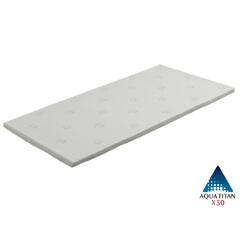 X30やすらぎチタンフィット セミダブル [サイズ:セミダブル(幅121×長さ196×厚さ4cm)] #BE610087