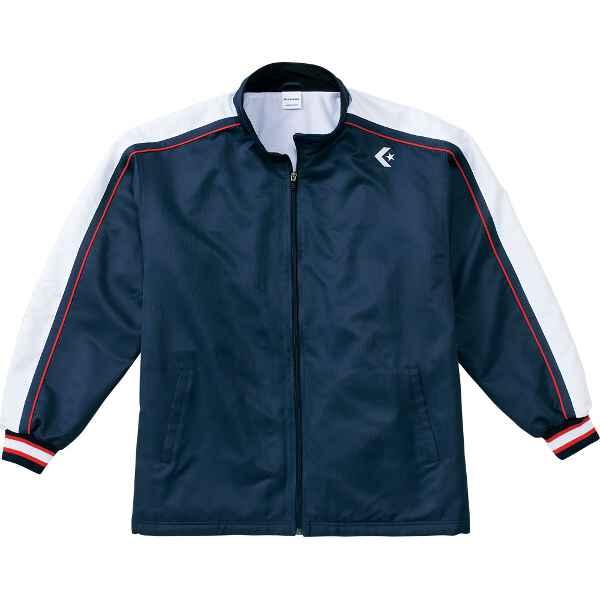 【コンバース】 ウォームアップジャケット CB112501S [カラー:ネイビー×レッド] [サイズ:XO] #CB112501S-2964 【スポーツ・アウトドア:その他雑貨】