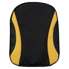 デイパック(C1509010)専用前ポケット C1509P [カラー:ブラック×ゴールド] [サイズ:25×35cm] #C1509P-1953
