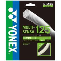 【ヨネックス】 テニスガット(硬式用) マルチセンサ 125 ロール巻き [カラー:ホワイト] [サイズ:長さ240m] #MTG125-2-011 【スポーツ・アウトドア:テニス:ガット】
