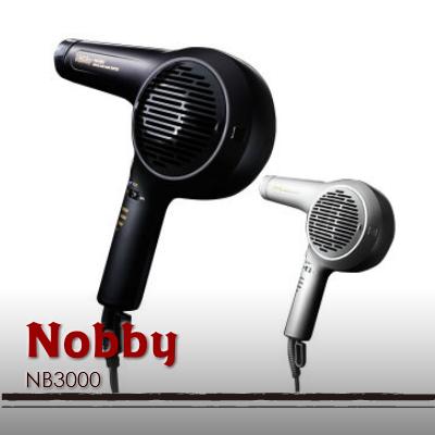 Nobby NB3100 マイナスイオン ヘアードライヤー 1500W (ブラック or ホワイト) 送料無料