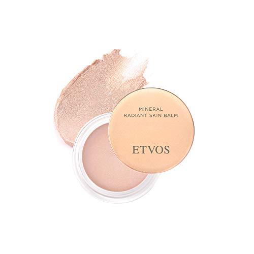 全品新品送料無料 ETVOS お気に入り ミネラルラディアントスキンバーム 4.8g ツヤ 透明感 日本初 を目立たなくする 乾燥小じわ 好評 エトヴォス ハイライトバーム 効能評価試験済み エトボス