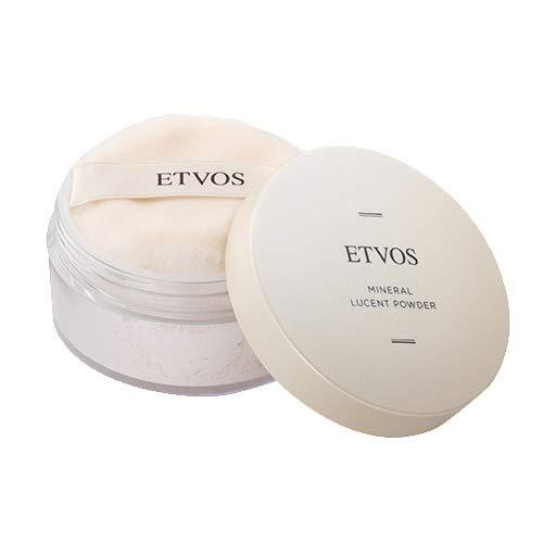 全品新品送料無料 ETVOS エトヴォス ミネラルルーセントパウダー 8g パフ付 セミマット 在庫一掃 仕上げ 皮脂吸収 化粧崩れ エトボス フェイスパウダー テカリ お金を節約 防止 ルース