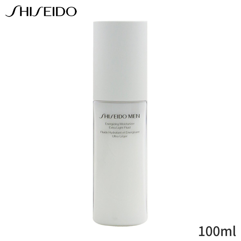 資生堂 保湿 トリートメント コスメ 化粧品 海外 海外直送 Shiseido Men Energizing Moisturizer Extra Light 100ml 定番 スキンケア Fluid 父の日 メンズ 誕生日プレゼント 男性用 ギフト 人気 フェイス 基礎化粧品